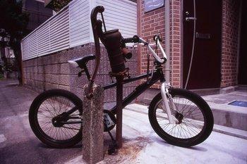 品川宿自転車置き場?.JPG